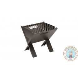 Barbecue nomade pliable