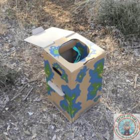Toilette sèche nomade