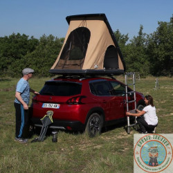 Location tente de toit DUO +