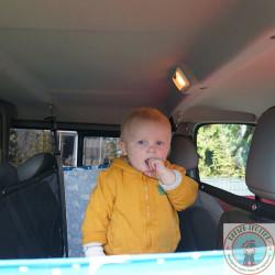 lit bébé pour fourgon, van ou camping-car