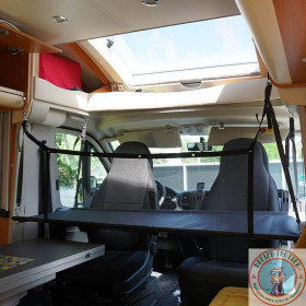 lit enfant - couchette camping car avec 1 filet