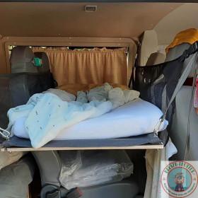 couchette VW T5 140 cm 2 filets de 40 cm