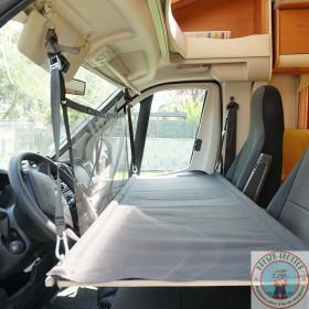 lit enfant - couchette camping car avec 1 filet - ducato