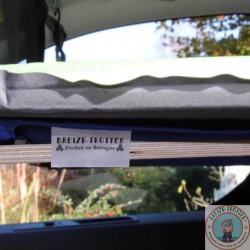 lit enfant, couchette pour fourgon aménagé, van et camping-car , etiquette produit en bretagne