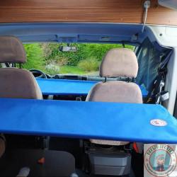 2 lits supplémentaires dans un camping-car avec porteur Fiat Ducato
