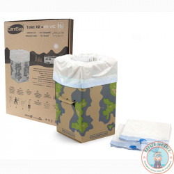 10 nomadic dry toilet bags