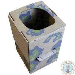 Nomadic dry toilet + 10 refills