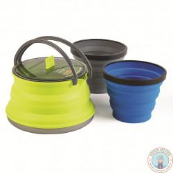 bouilloire pliante + 2 mugs