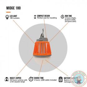 Lumière led anti-insecte USB vango