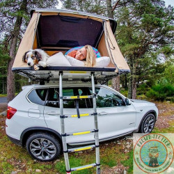 Roof tent rental in southern Brittany