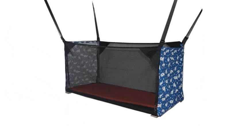 Un lit bébé pour van, fourgon, camping-car ou bateau