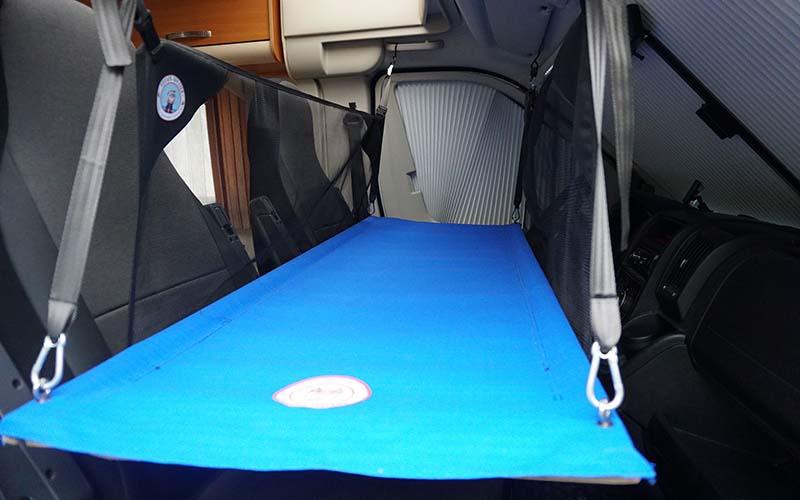 position cabine lit enfant fourgon aménagé ou van