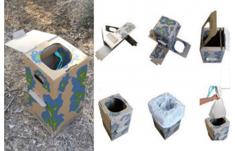Les toilettes sèches pliables : kezako